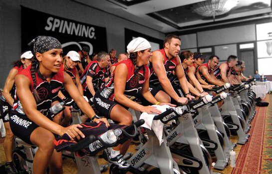 新手怎样演习动感单车练习?-追梦健身网