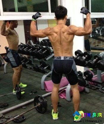 背部肌肉磨炼要领图解-追梦健身网