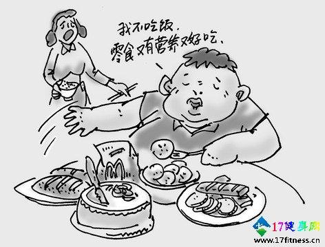 小技能吃零食你不用在畏惧胖了-追梦健身网