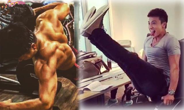 方力申和Stephy分手5个月,化悲愤为力量变身肌肉男