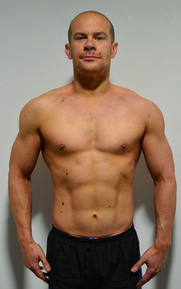英肥胖男程序员12周变肌肉男