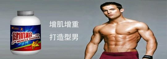 瘦人增肌必备 新手增肌增重