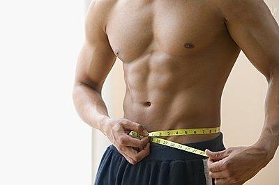 白领男士的腹部健身法